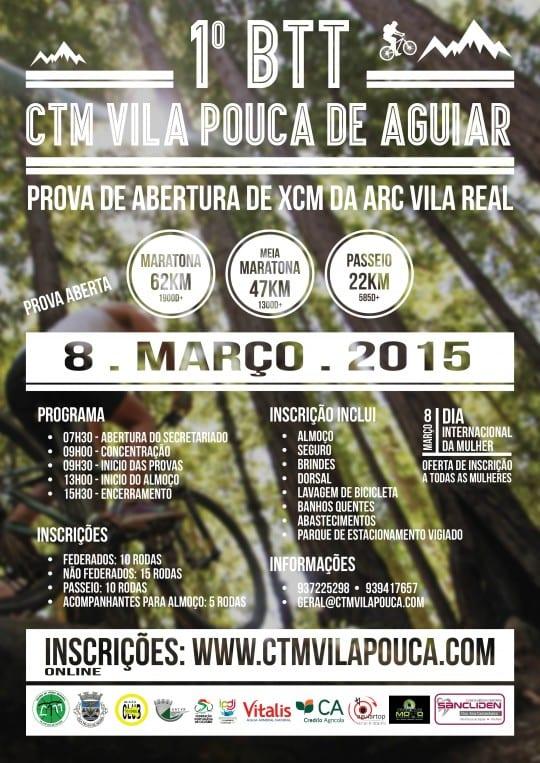 1º BTT CTM Vila Pouca de Aguiar