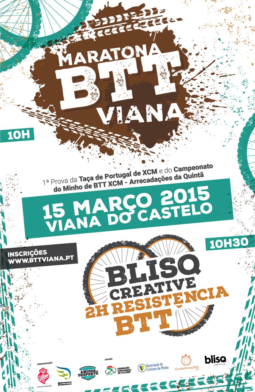 Maratona BTT de Viana e Blisq Creative 2H Resistência BTT
