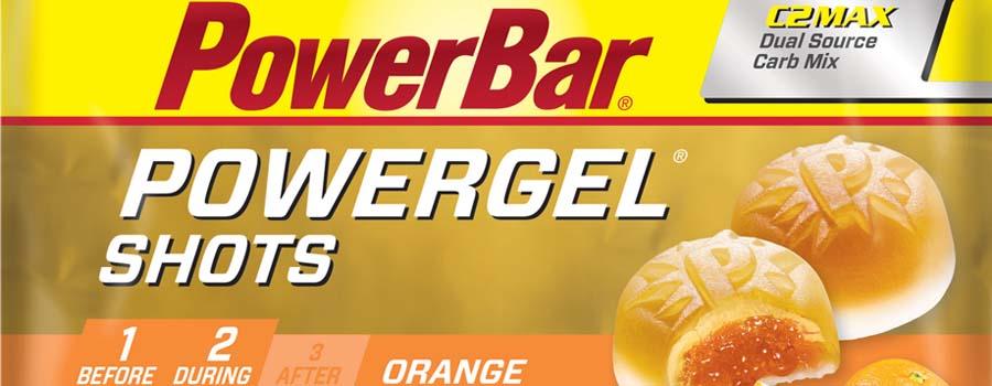 PowerBar POWERGEL SHOTS laranja
