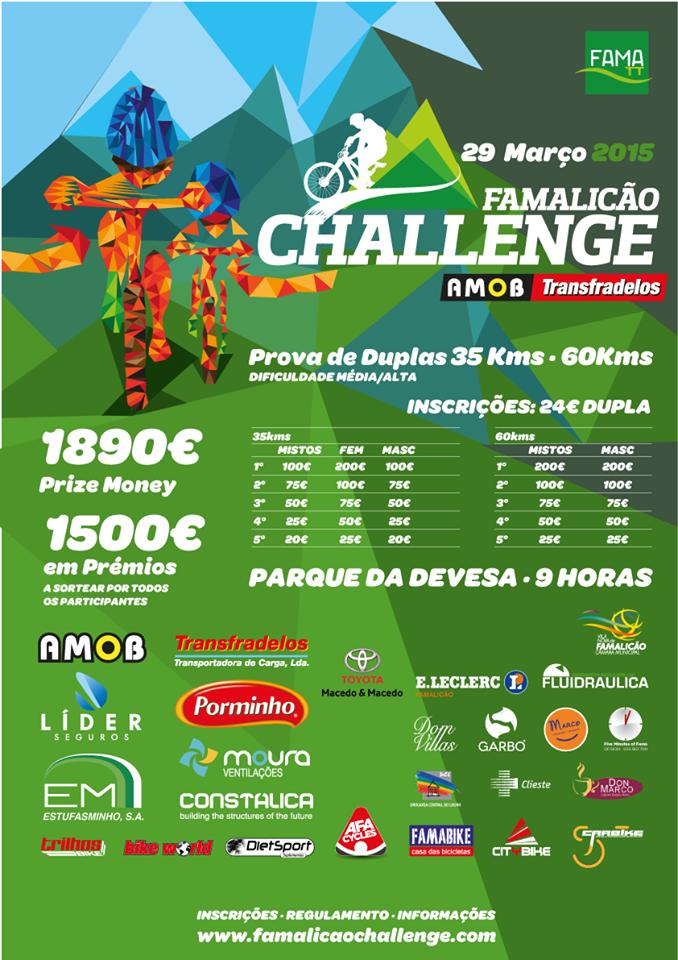 Famalicão Challenge AMOB Transfradelos cartaz