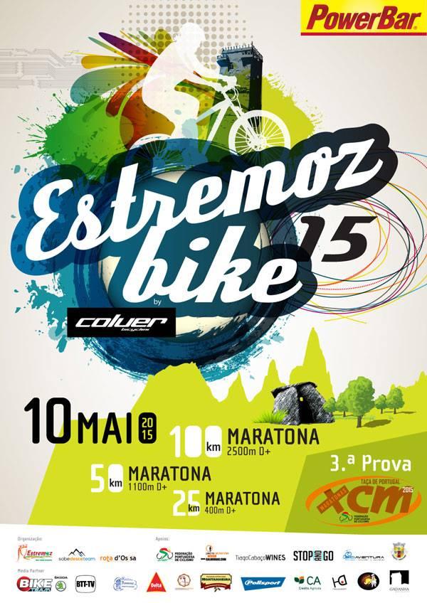 Maratona Estremozbike 2015 cartaz