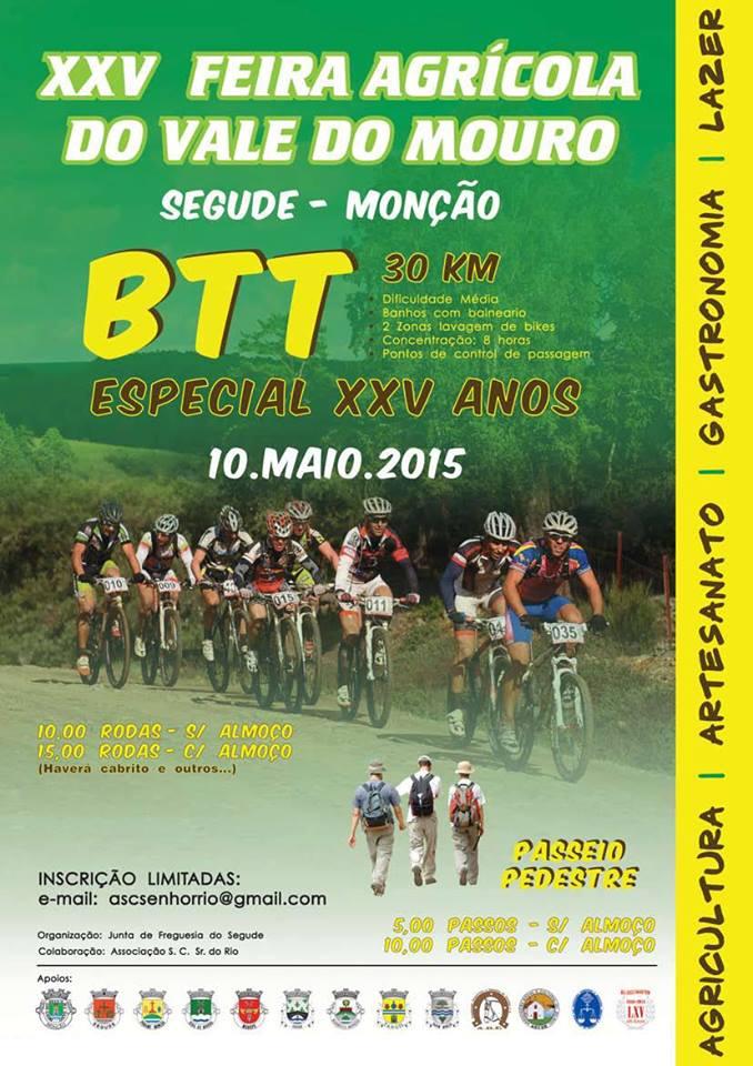 Passeio de BTT - XXV Feira Agrícola do Vale do Mouro