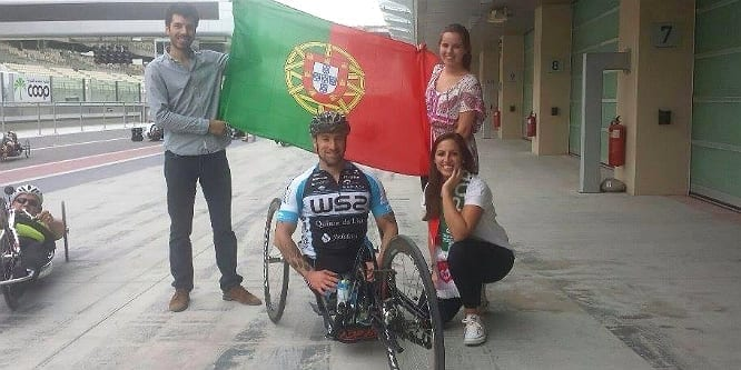 paraciclista Luís Costa Circuito Europeu de Handbike Abu Dhabi