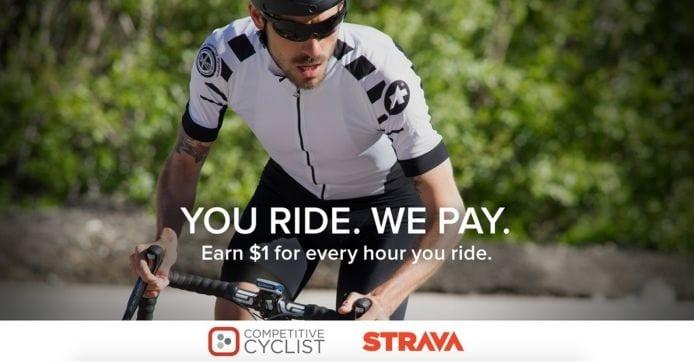 Parceria da Competitive Cyclist com a Strava