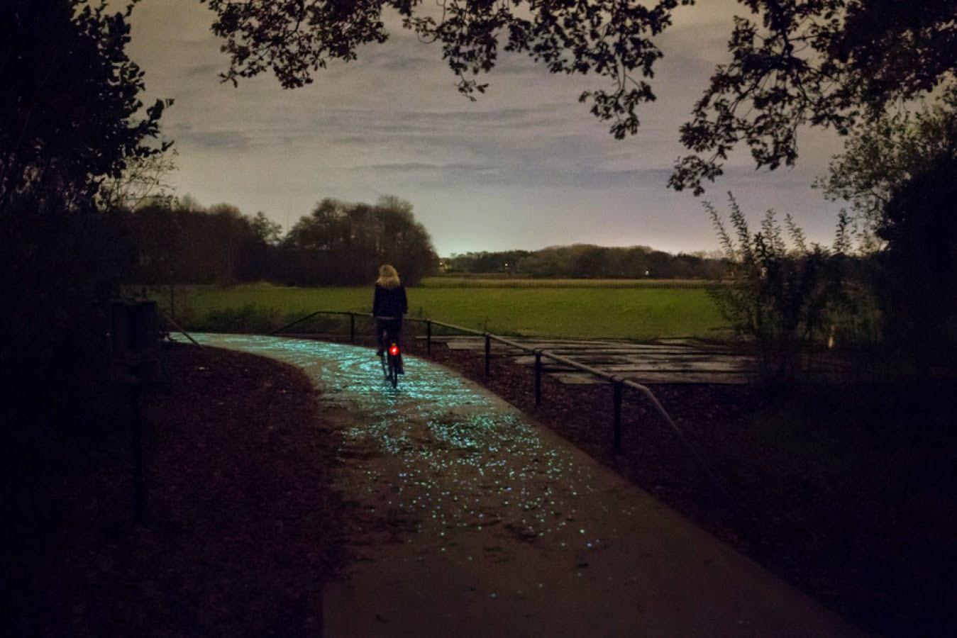 ciclovia que brilha no escuro 1