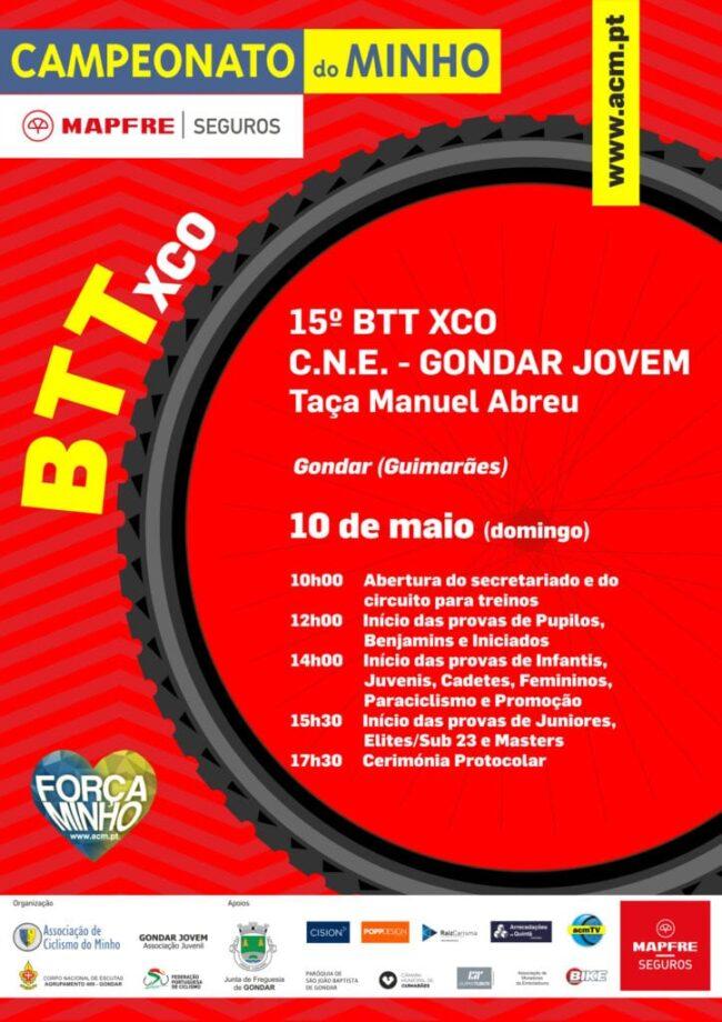 15º BTT XCO C.N.E. Gondar Jovem - Taça Manuel Abreu
