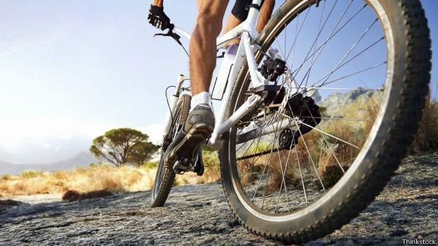 Andar de bicicleta e os joelhos