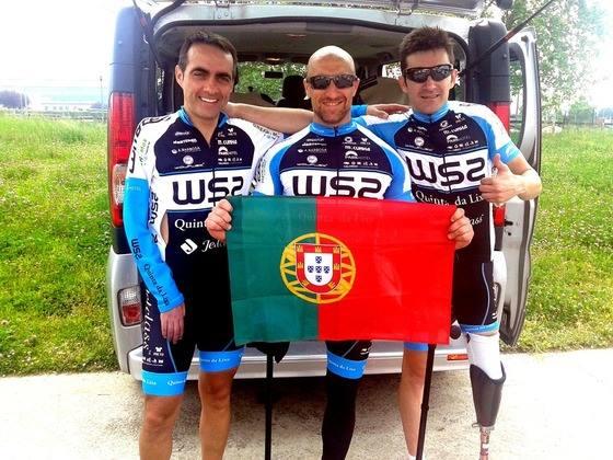 Paraciclista português Luís Costa 3º em Itália