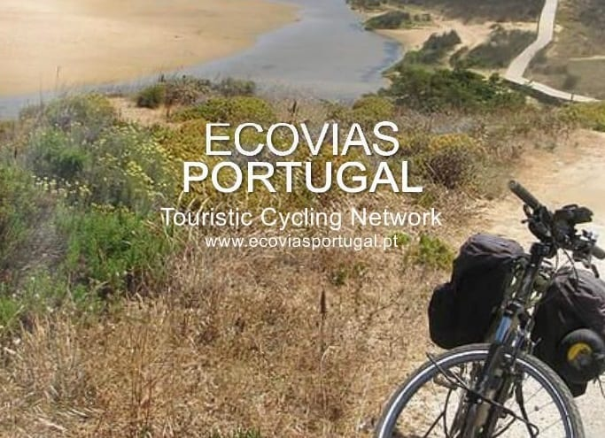 The road book for cycle touring in Portugal