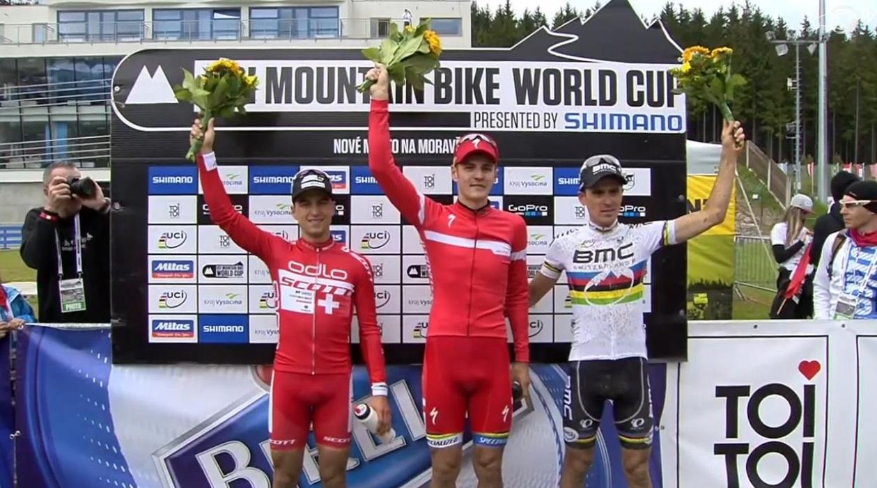 UCI MTB World Cup 2015 Nove Mesto, Czech Republic Podio
