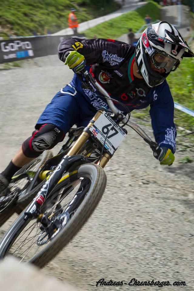 Emanuel Pombo falha na qualificação - #3 Leogang - Áustria