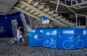Oceanário de Lisboa oferece serviço de cacifos públicos para bicicletas