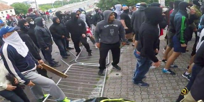 Protesto de neonazistas interrompe etapa do City Downhill World Tour na Eslováquia