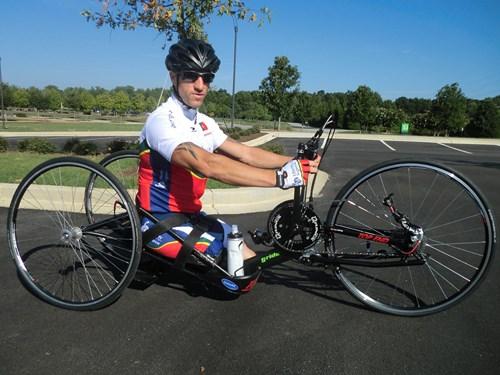 Seleção de paraciclismo corre a Taça do Mundo Maniago Luís Costa