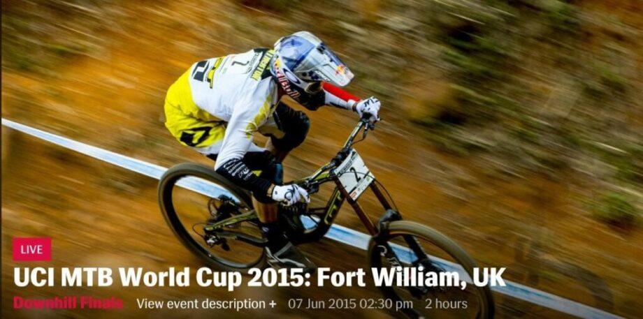 UCI MTB World Cup 2015 Fort William