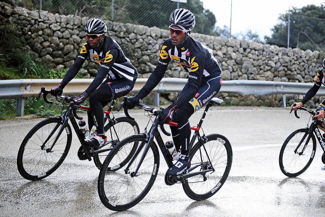 Cycling - Radsport - MTN Qhubeka - Photoshooting - 21.02.2015