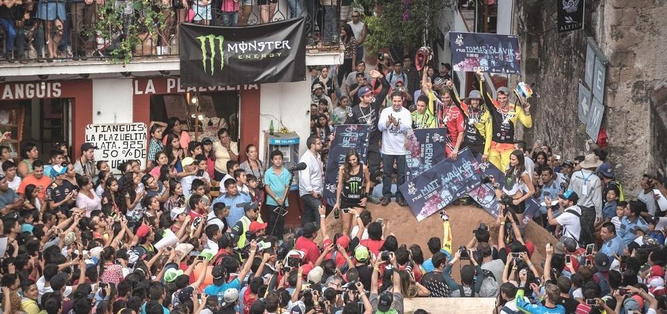 City Downhill World Tour 2015 Taxco Mexico podium
