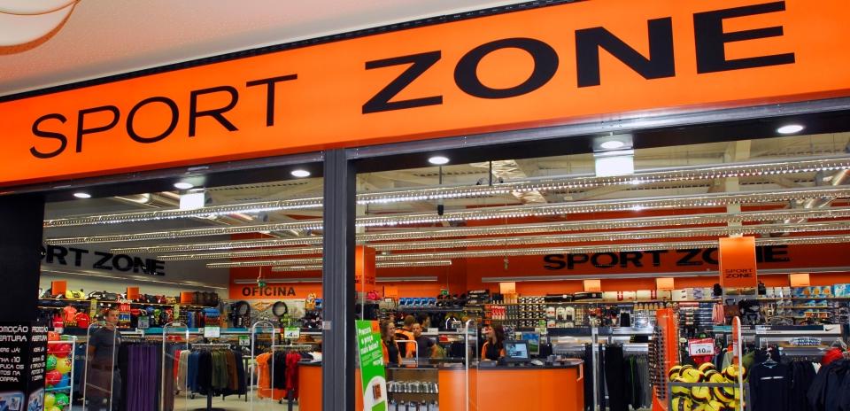 Sport Zone Logo entrada loja