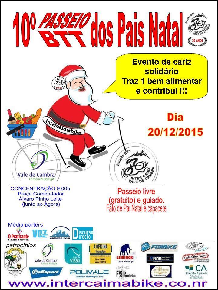 10 Passeio BTT dos Pais Natal 2015 Intercaima Bike