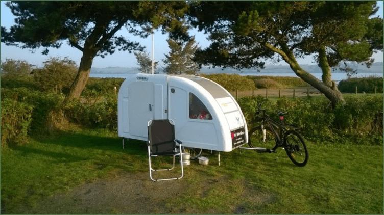 Wide Path Camper bike caravan