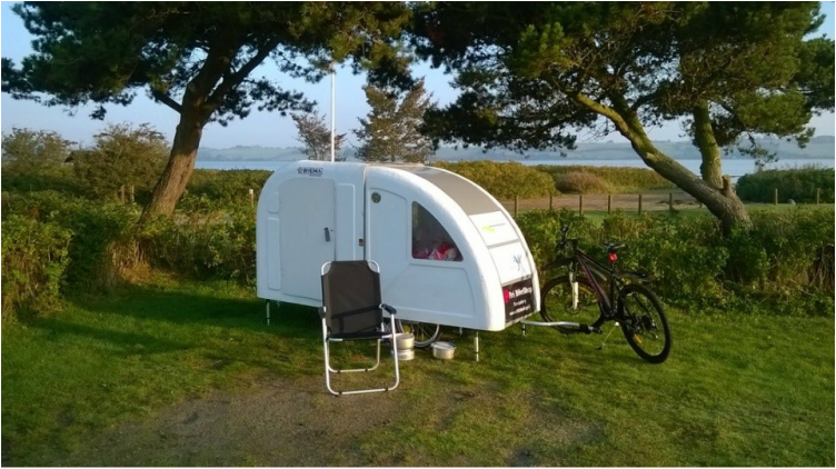 Wide Path Camper bike caravan