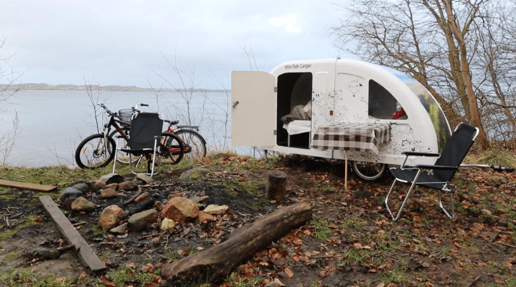 Wide Path Camper bike caravan parking
