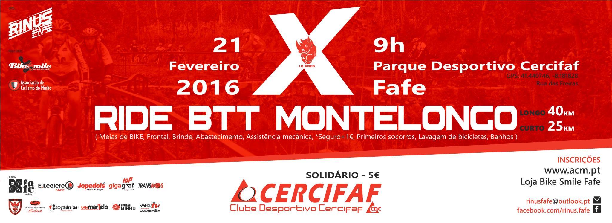 10º Ride BTT Montelongo Fafe - Cercifaf