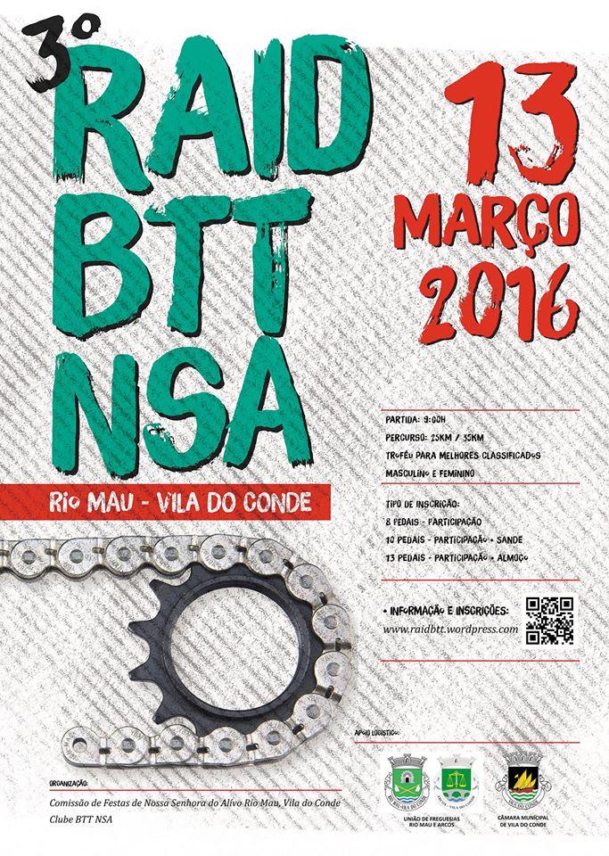 3º Raid BTT NSA