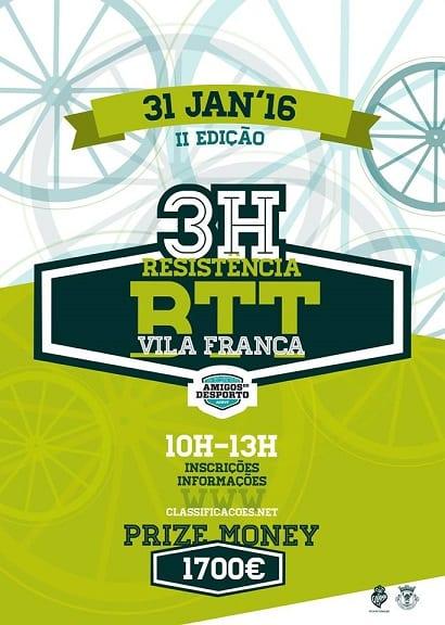 3H BTT Resistência de Vila Franca 2016