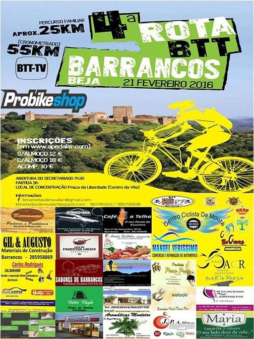 4º Rota BTT Barrancos 2016