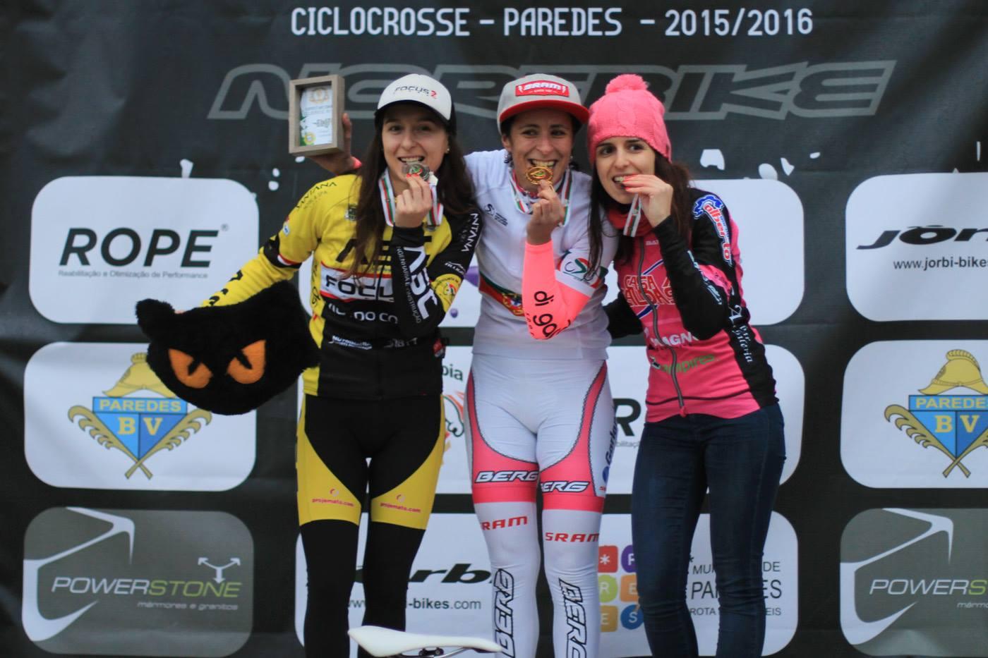 Campeonato Nacional de Ciclocrosse 2015 2016 feminino