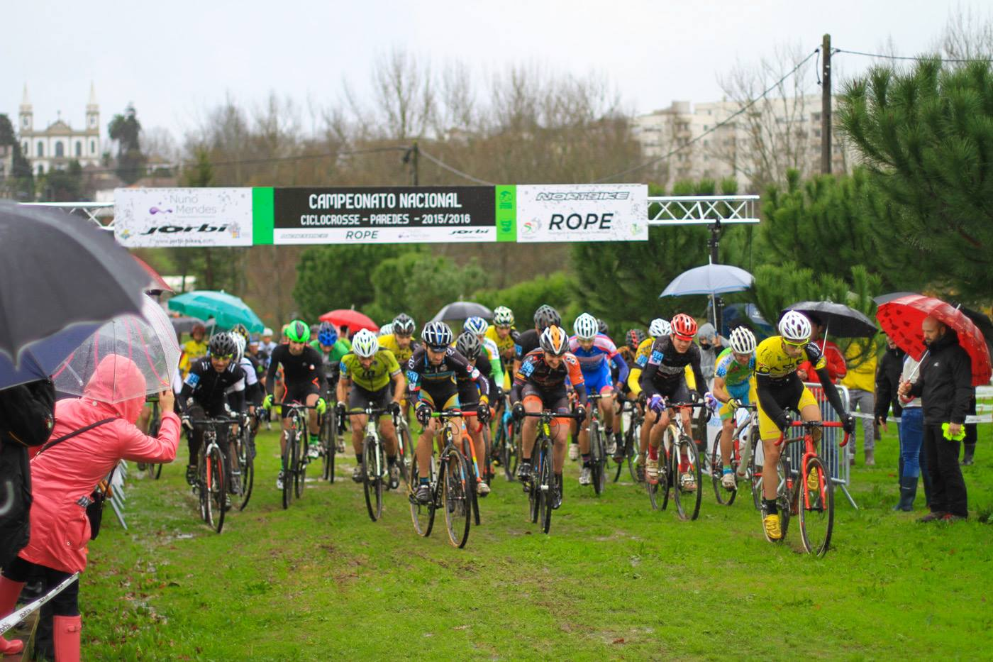Campeonato Nacional de Ciclocrosse 2015 2016 partida