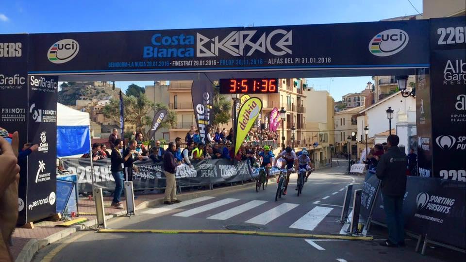 David Rosa e Tiago Ferreira terceira etapa da Costa Blanca Bike Race