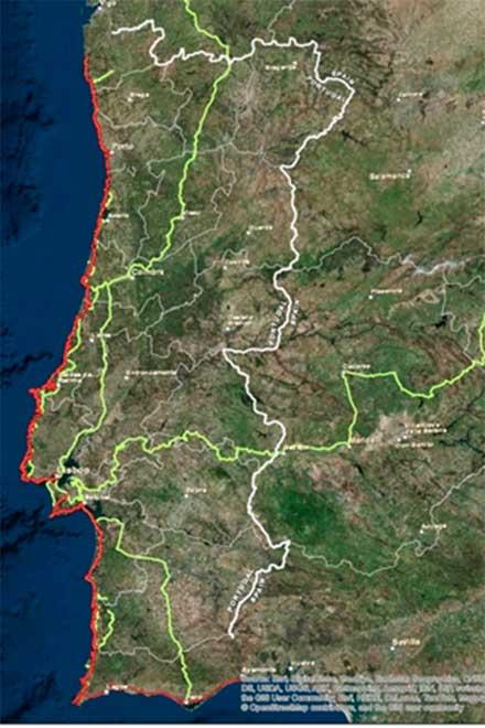 Eurovelo portugal litoral