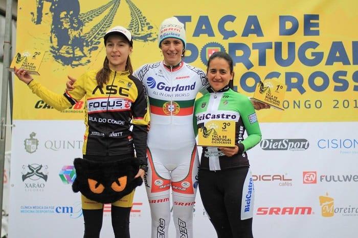 Isabel Caetano conquista da Taça de Portugal de Ciclocrosse