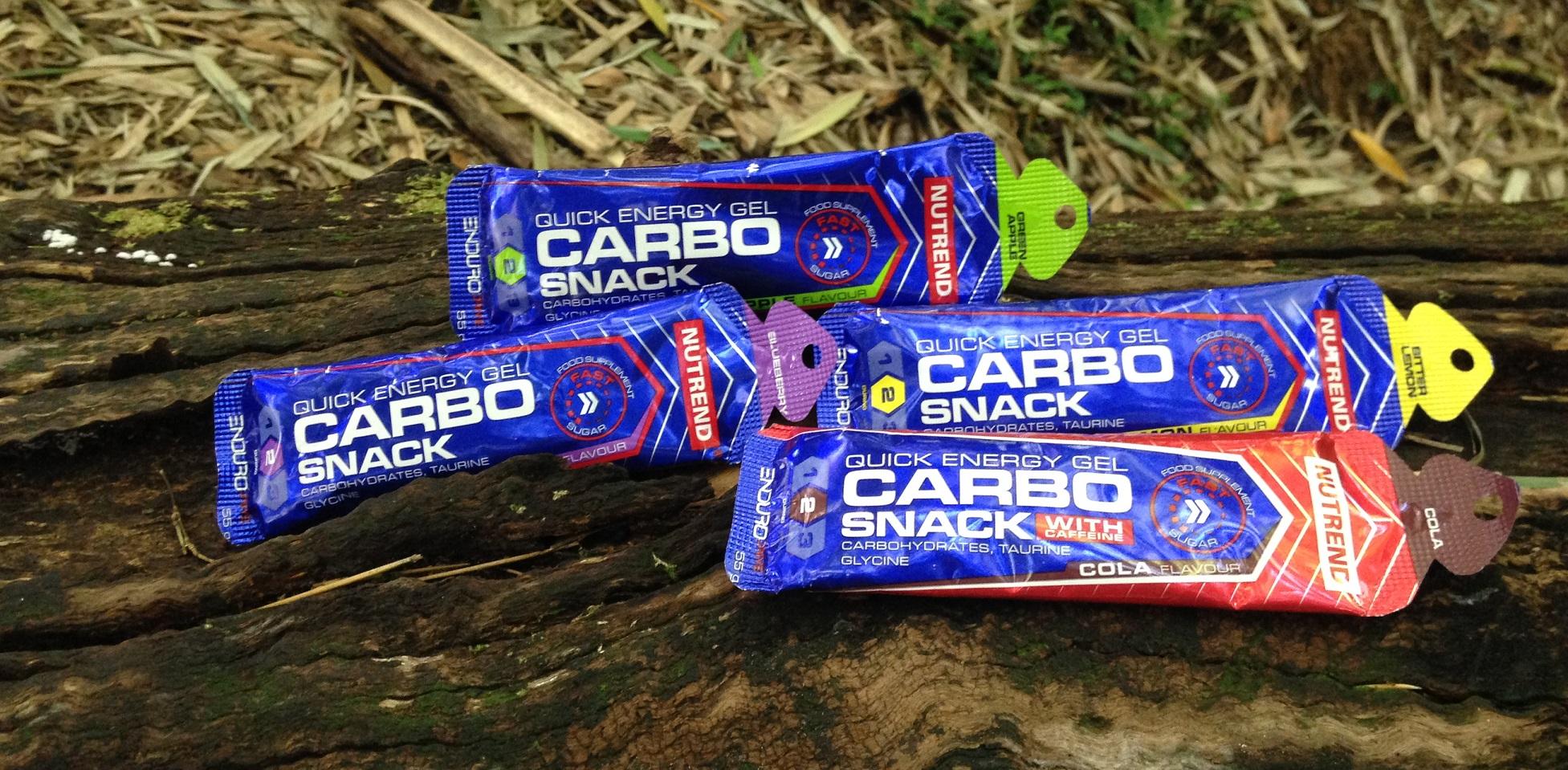 Nutrend CarboSnack Gel (5)
