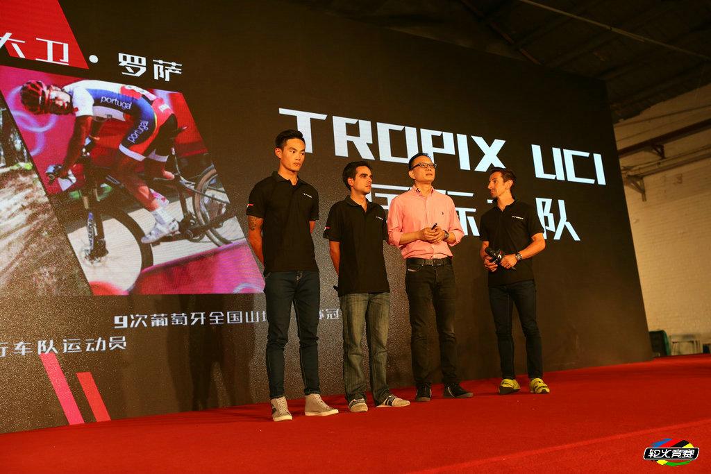 Tropix Factory Team 2016 David Rosa 2