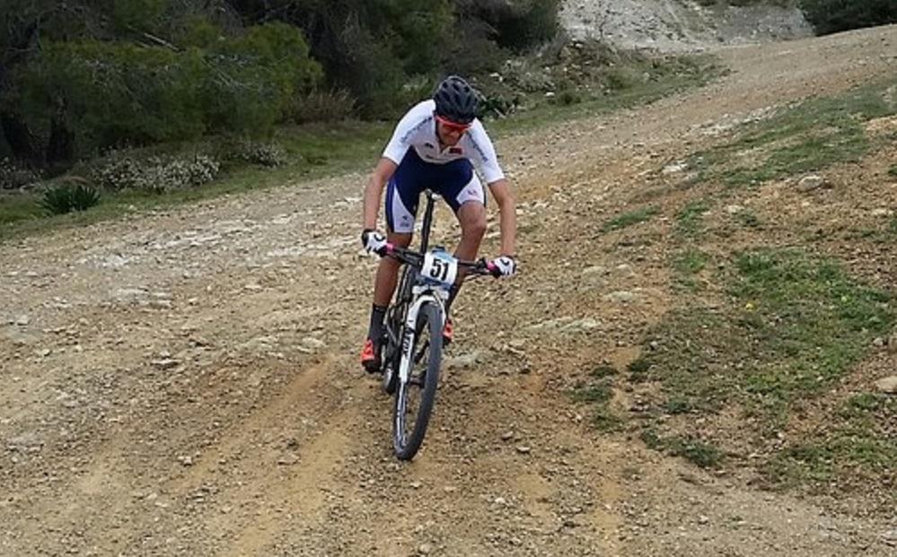 Tiago Ferreira Salamina Island Bike Race