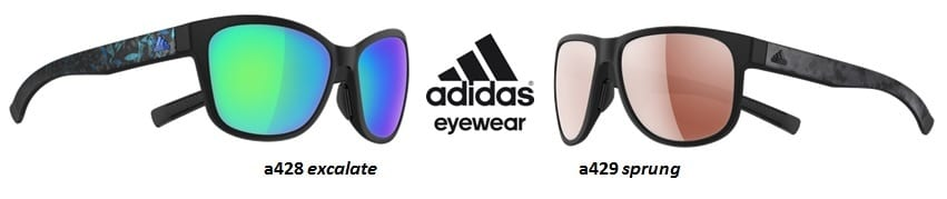 adidas eyewear a428 excalate a429 sprung