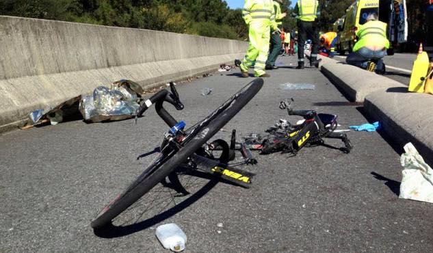 Dois ciclistas mortos em atropelamento 1