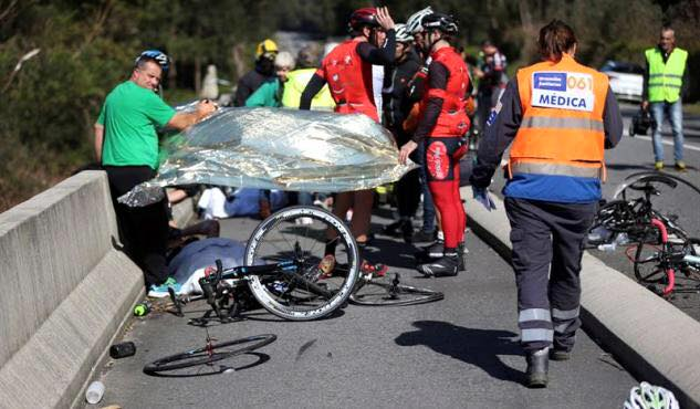 Dois ciclistas mortos em atropelamento pontevedra