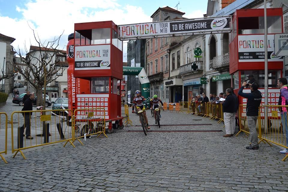 Jose Silva e Mario Costa vencem 1ª etapa do Portugal Tour MTB