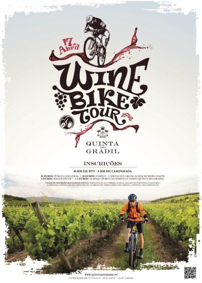 1º Wine Bike Tour Quinta do Gradil