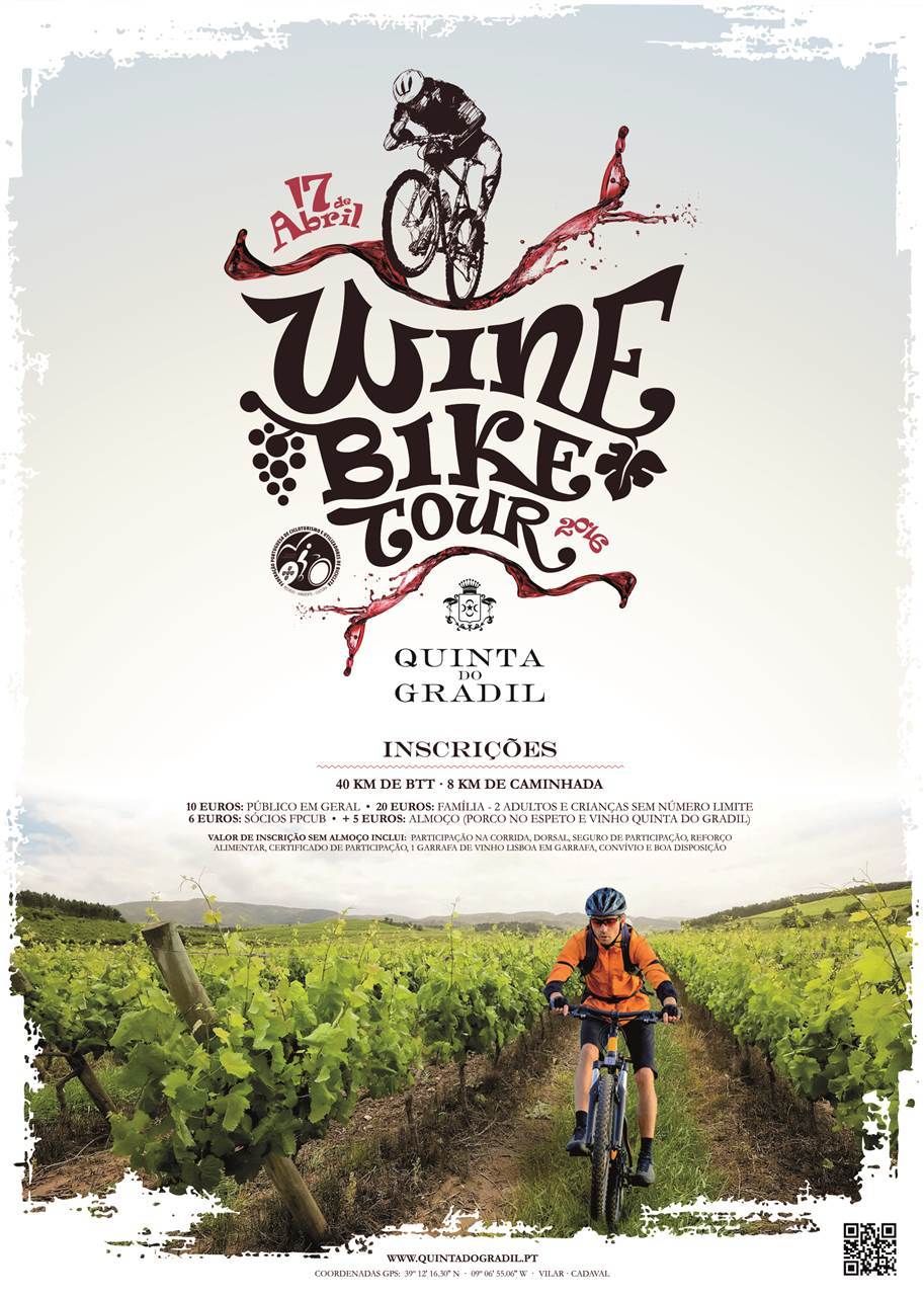 1º Wine Bike Tour Quinta do Gradil