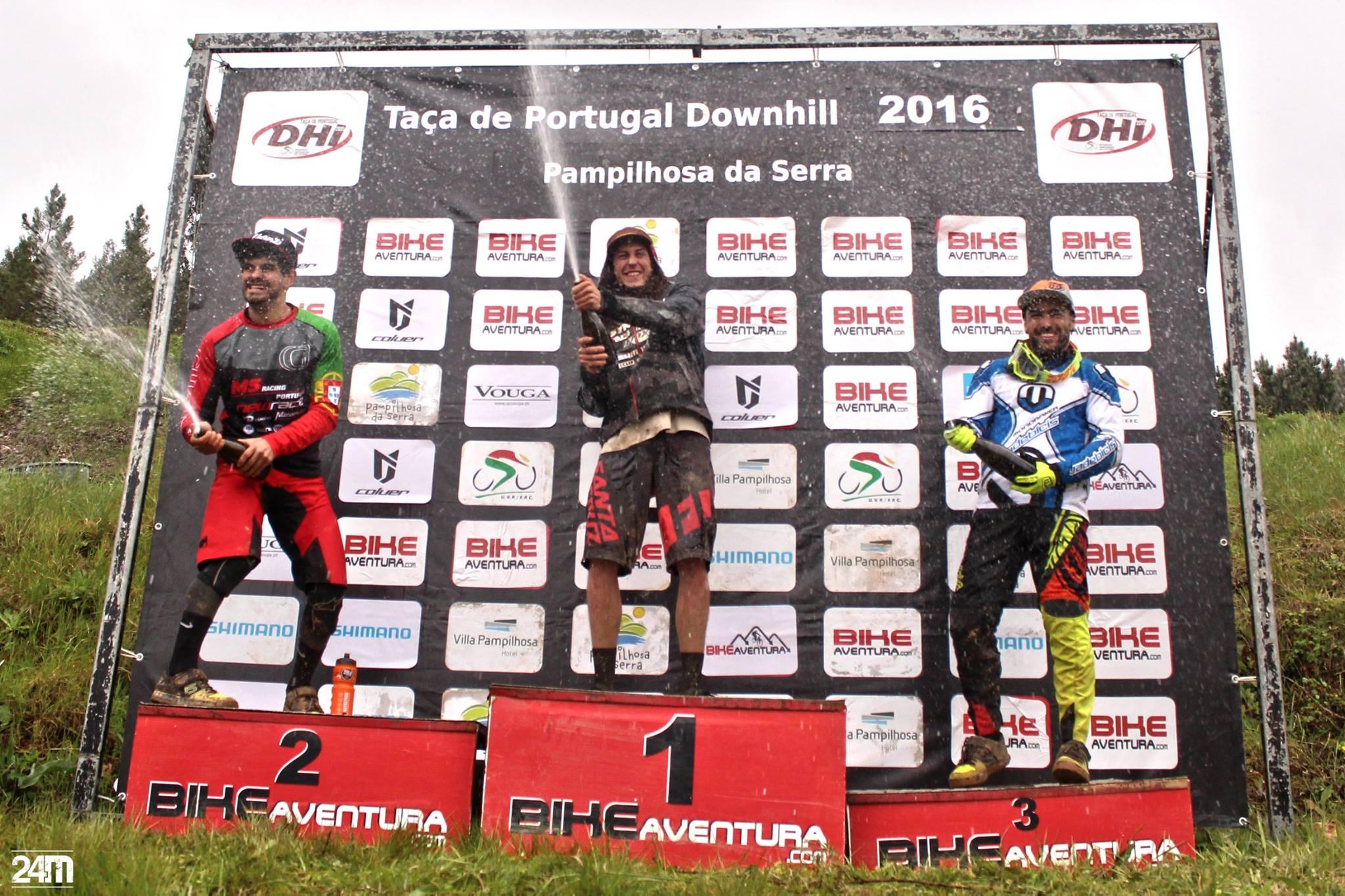 2ª etapa da Taça Cyclin'Portugal DHI podio 24M