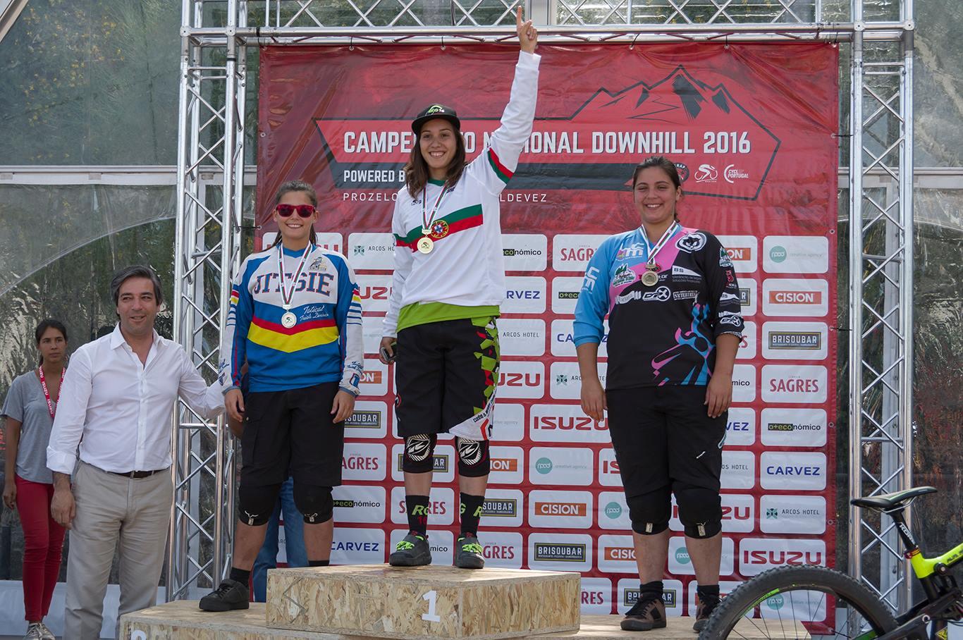 Campeonato Nacional de downhill feminino 2016