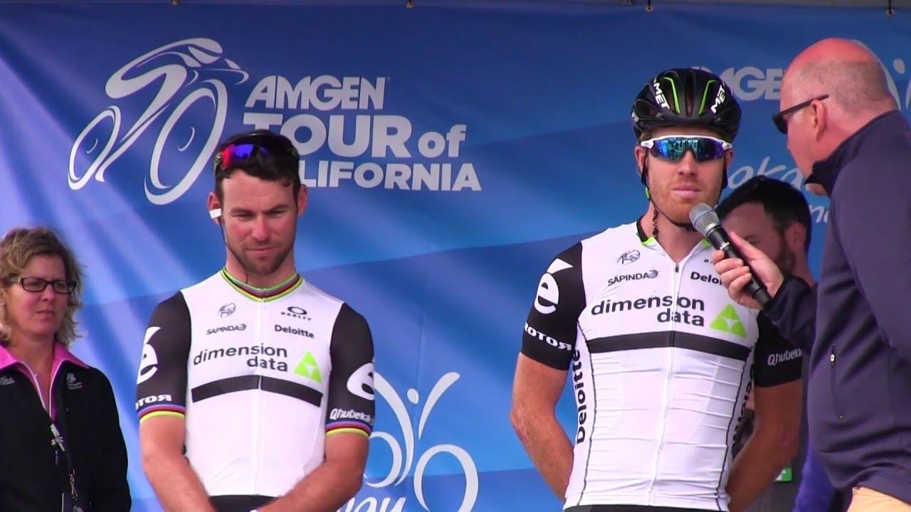 Team Dimention Data Tour of California