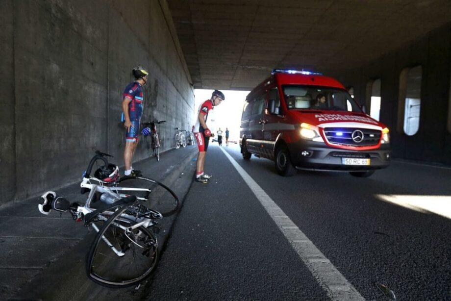 Ciclista morre atropelado em Braga (4)