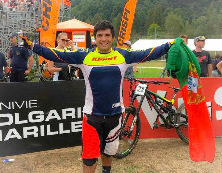 Daniel Pombo é Vice-Campeão do Mundo de Downhill (1)