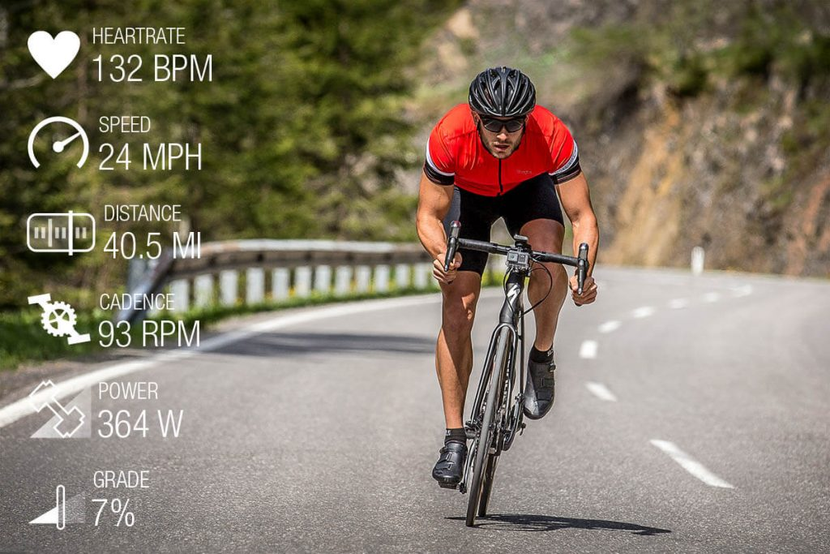 Garmin VIRB Ultra cycling